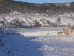 Объект Исследование состояния плотины на р. Большая Чичатка ст. Амазар Читинской области